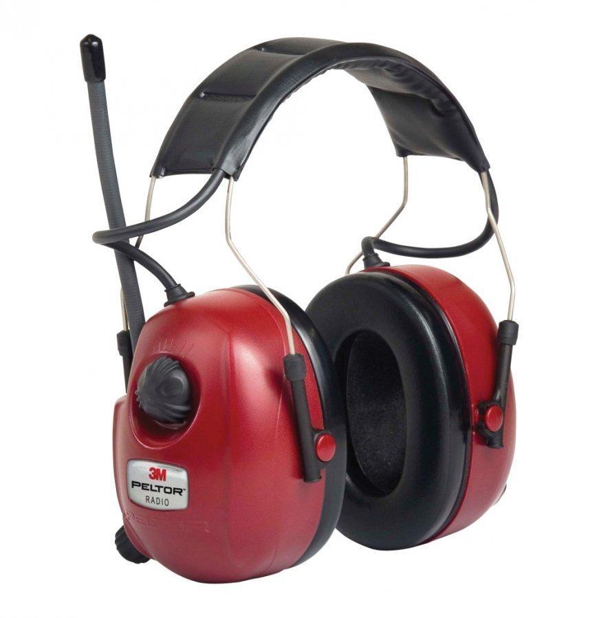 3m Peltor Radiokuulosuojain + MP3-liitin Pun