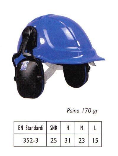 Bilsom 718 kypäräkiinnitteinen kuulosuojain