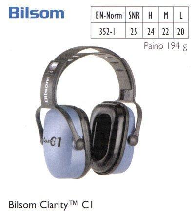 Bilsom Clarity C1 kuulosuojain