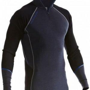 Blåkläder Aluspaita Warm vetoketjulla harmaa/musta