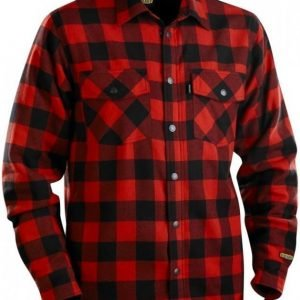Blåkläder Flanellipaita vuorattu punainen/musta