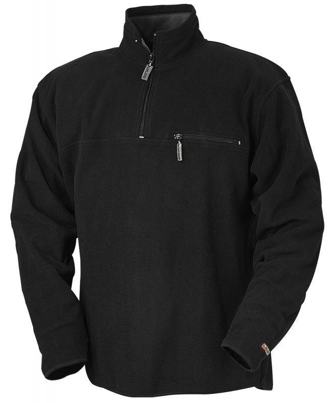 Blåkläder Fleecepusero Musta