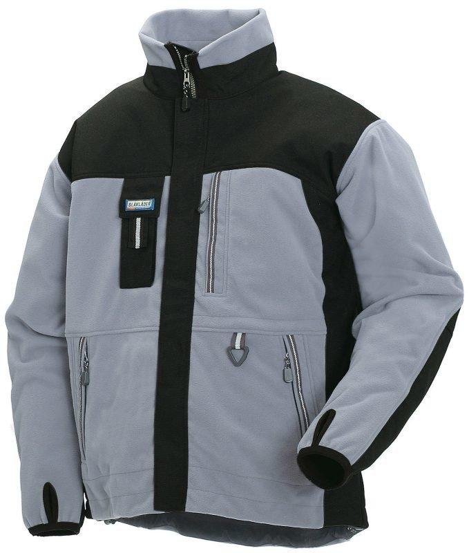 Blåkläder Functional Fleecepusero Harmaa/Musta