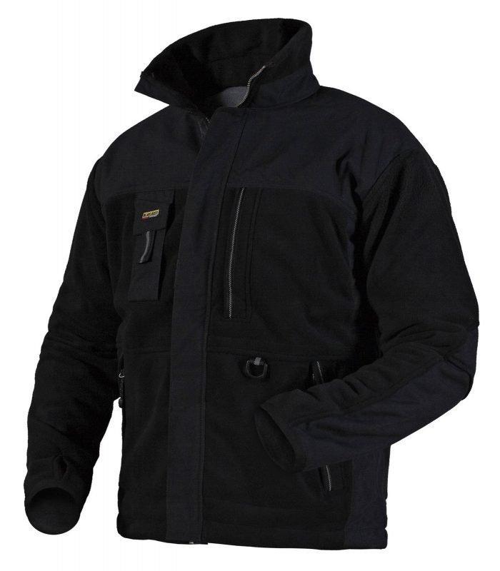 Blåkläder Functional Fleecepusero Musta