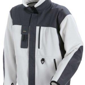 Blåkläder Functional Fleecepusero Valkoinen/Harmaa