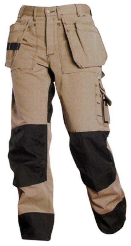 Blåkläder Heavy Duty riipputaskuhousut Khaki/Musta