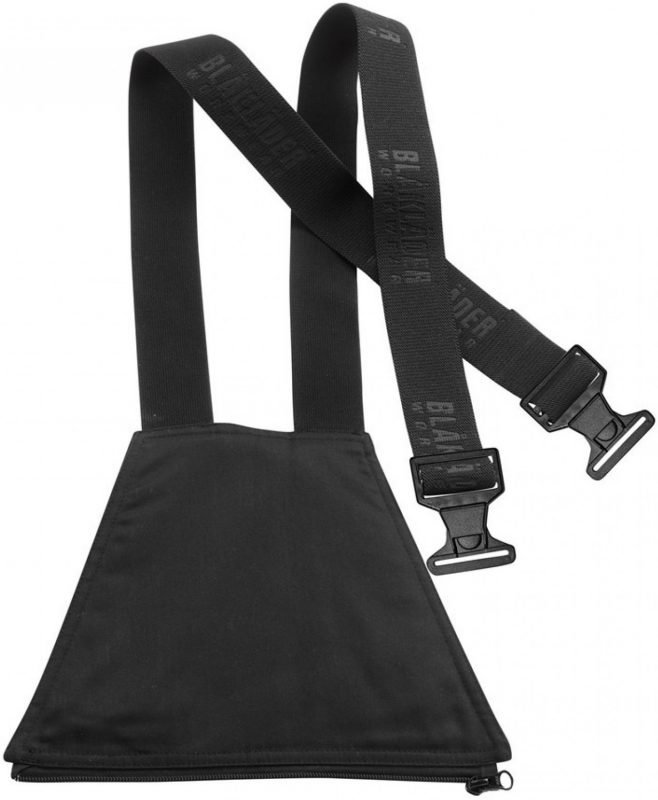Blåkläder Henkselit housuun 1862 musta