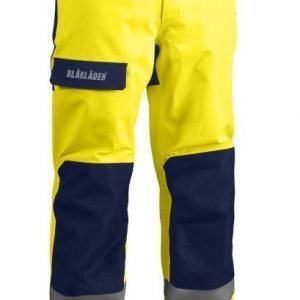 Blåkläder Highvis GORE-TEX® kuorihousut Keltainen/Mariininsininen