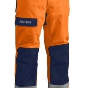 Blåkläder Highvis GORE-TEX® kuorihousut Oranssi/Mariininsininen