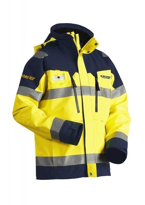 Blåkläder Highvis GORE-TEX® kuoritakki Keltainen/Mariininsininen