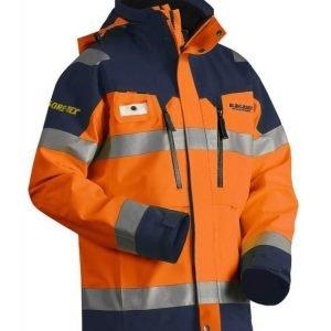 Blåkläder Highvis GORE-TEX® kuoritakki Oranssi/Mariininsininen
