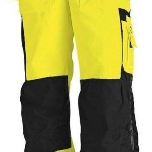 Blåkläder Highvis Riipputaskuhousut Keltainen/Musta