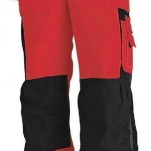 Blåkläder Highvis Riipputaskuhousut Punainen/Musta