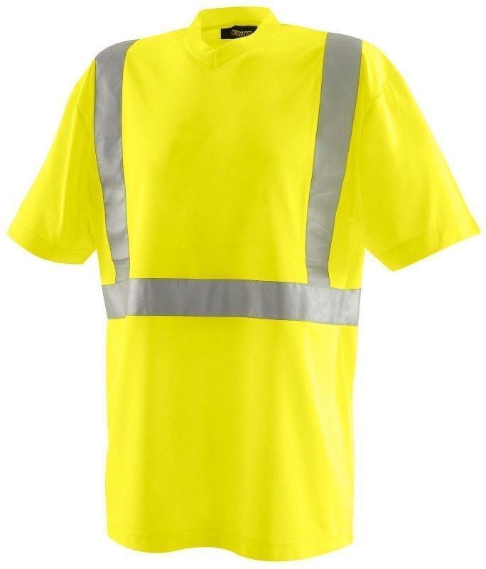 Blåkläder Highvis T-paita Keltainen