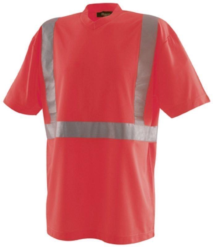 Blåkläder Highvis T-paita Punainen