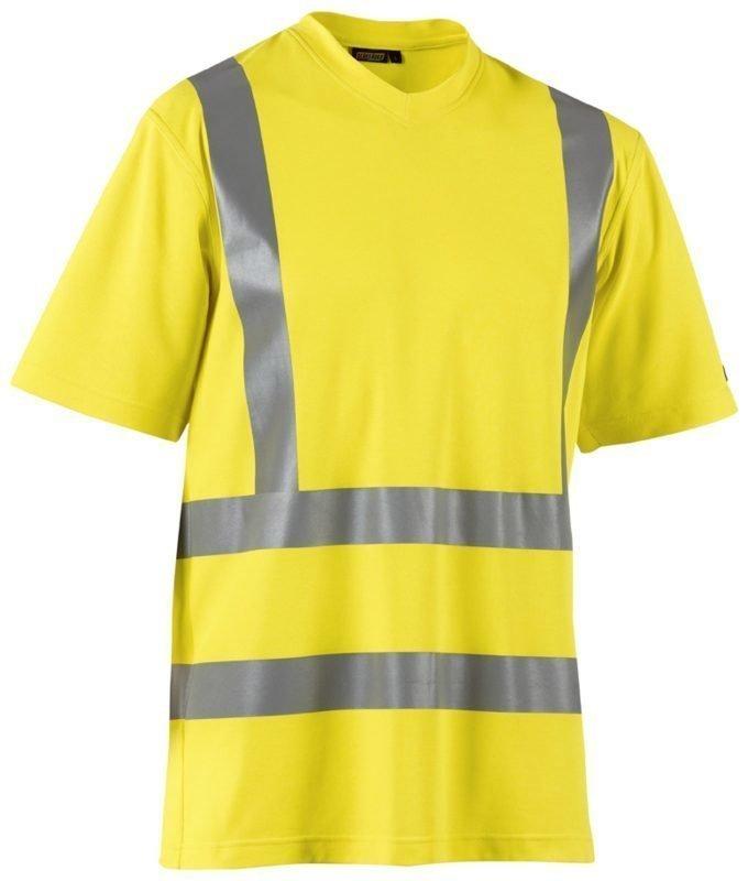 Blåkläder Highvis T-paita UV-suojattu Keltainen
