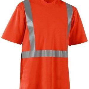 Blåkläder Highvis T-paita UV-suojattu Oranssi