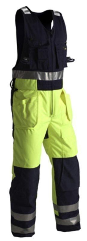 Blåkläder Highvis Talviavohaalari Keltainen/Mariininsininen