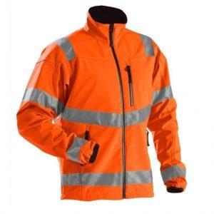 Blåkläder Highvis WINDSTOPPER® softshell Oranssi
