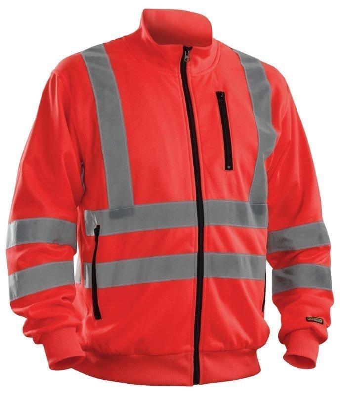 Blåkläder Highvis collegepaita  Punainen