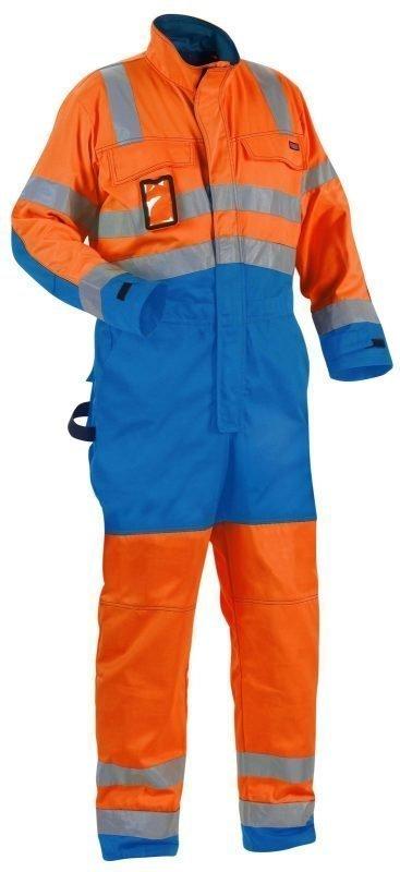 Blåkläder Highvis haalari Oranssi/Keskisininen
