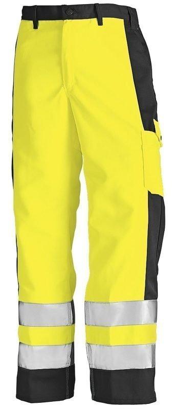 Blåkläder Highvis housut Keltainen/Musta