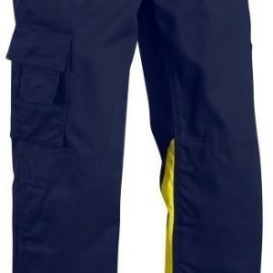 Blåkläder Highvis housut  Mariininsininen/Keltainen