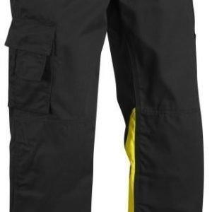 Blåkläder Highvis housut  Musta/Keltainen