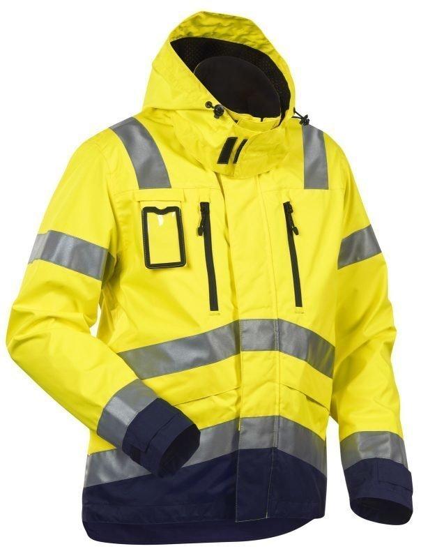 Blåkläder Highvis kuoritakki Keltainen/Mariininsininen