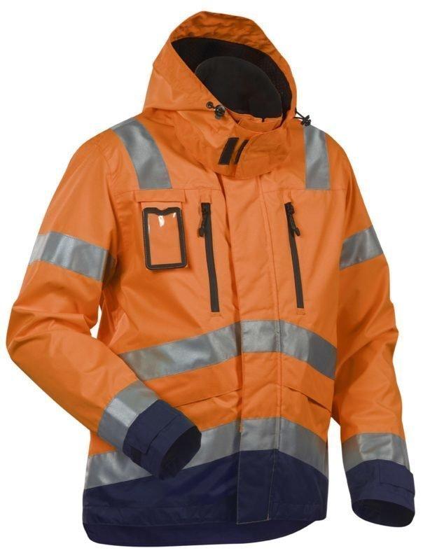Blåkläder Highvis kuoritakki Oranssi/Mariininsininen