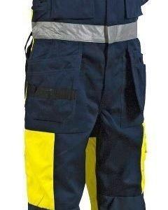 Blåkläder Highvis lappuhaalari Keltainen/Mariininsininen