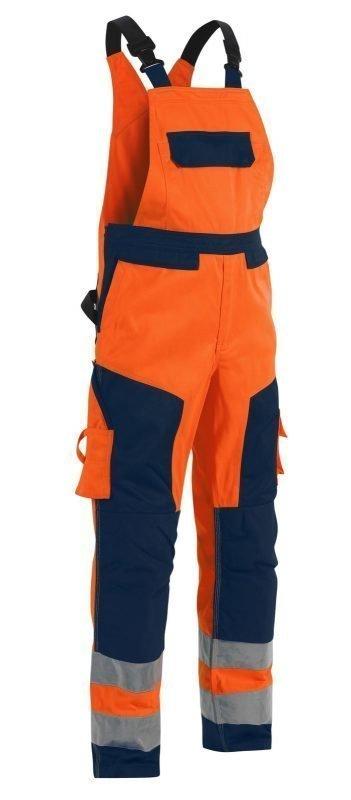 Blåkläder Highvis lappuhaalari Oranssi/Mariininsininen