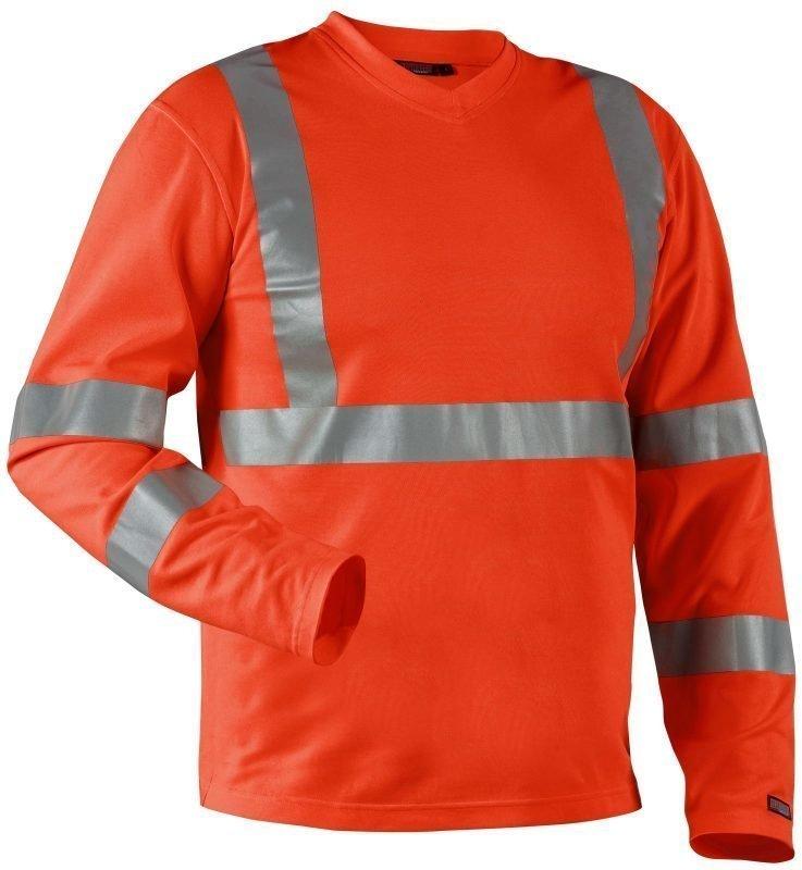 Blåkläder Highvis paita UV-suojattu Oranssi