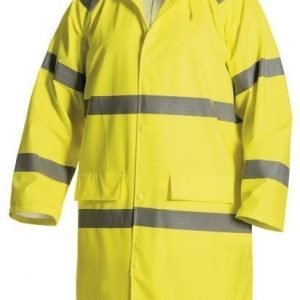 Blåkläder Highvis pitkä sadetakki Keltainen