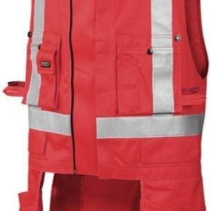 Blåkläder Highvis riipputaskuliivi Punainen