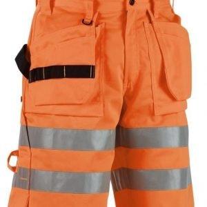 Blåkläder Highvis riipputaskushortsit Oranssi