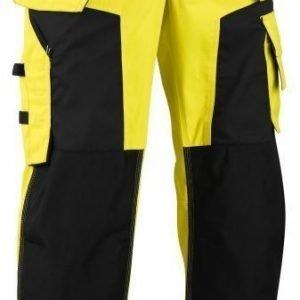 Blåkläder Highvis softshell riipputaskuhousut Keltainen/Musta