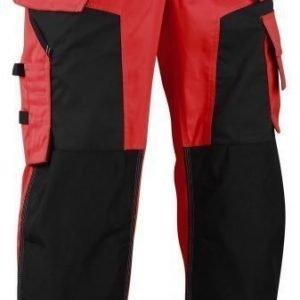 Blåkläder Highvis softshell riipputaskuhousut Punainen/Musta
