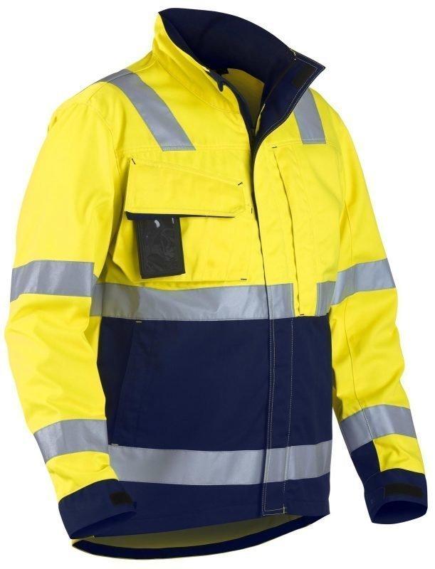 Blåkläder Highvis takki Keltainen/Mariininsininen