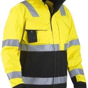 Blåkläder Highvis takki Keltainen/Musta