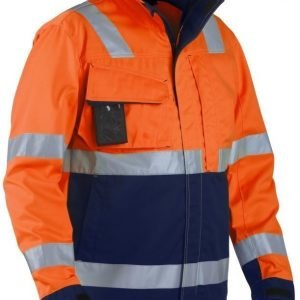 Blåkläder Highvis takki Oranssi/Mariininsininen