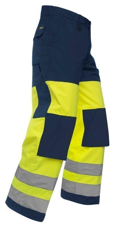 Blåkläder Highvis talvihousut Keltainen/Mariininsininen