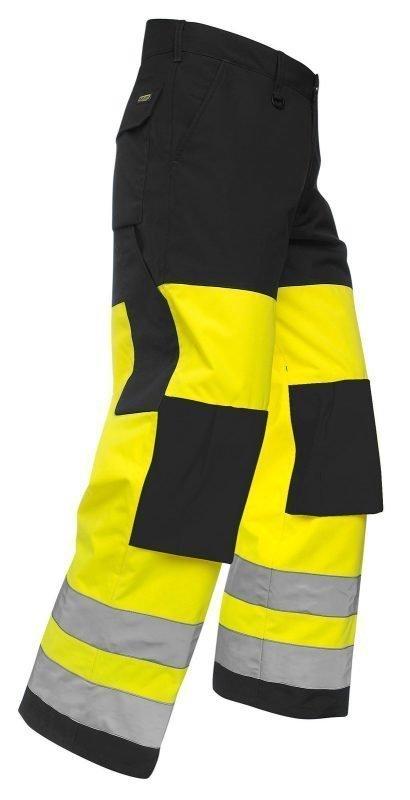 Blåkläder Highvis talvihousut Keltainen/Musta
