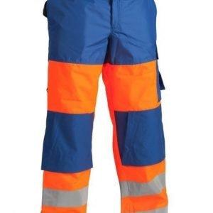Blåkläder Highvis talvihousut Oranssi/Keskisininen