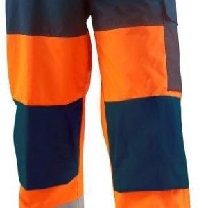 Blåkläder Highvis talvihousut Oranssi/Mariininsininen
