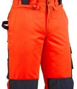 Blåkläder Highvis talvihousut henkseleillä Oranssi/Mariininsininen