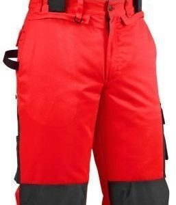 Blåkläder Highvis talvihousut henkseleillä Punainen/Musta