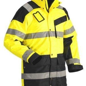 Blåkläder Highvis talviparkas Keltainen/Musta