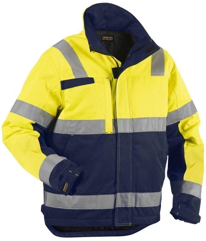 Blåkläder Highvis talvitakki Keltainen/Mariininsininen