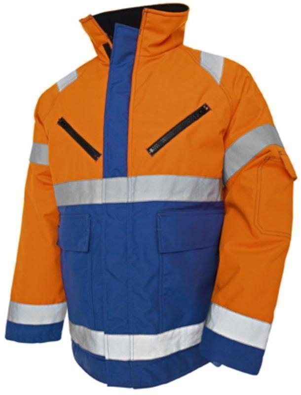 Blåkläder Highvis talvitakki Oranssi/Keskisininen